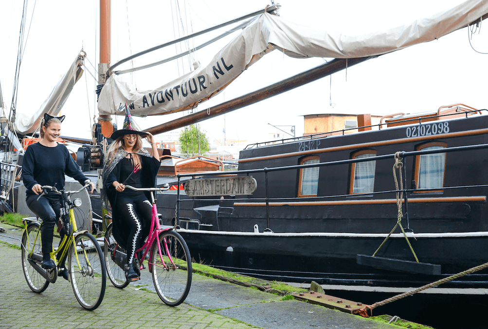 trajet à vélo